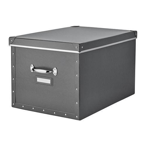 boite de rangement avec couvercle