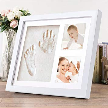 cadre photo empreinte bébé