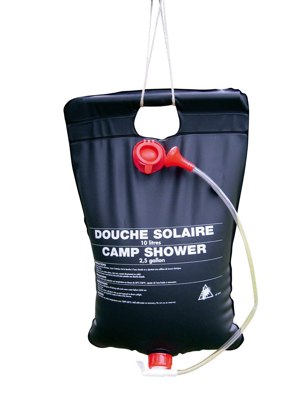 douche solaire camping