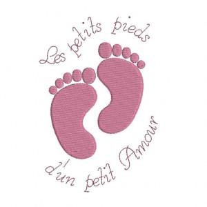 empreinte pied bébé