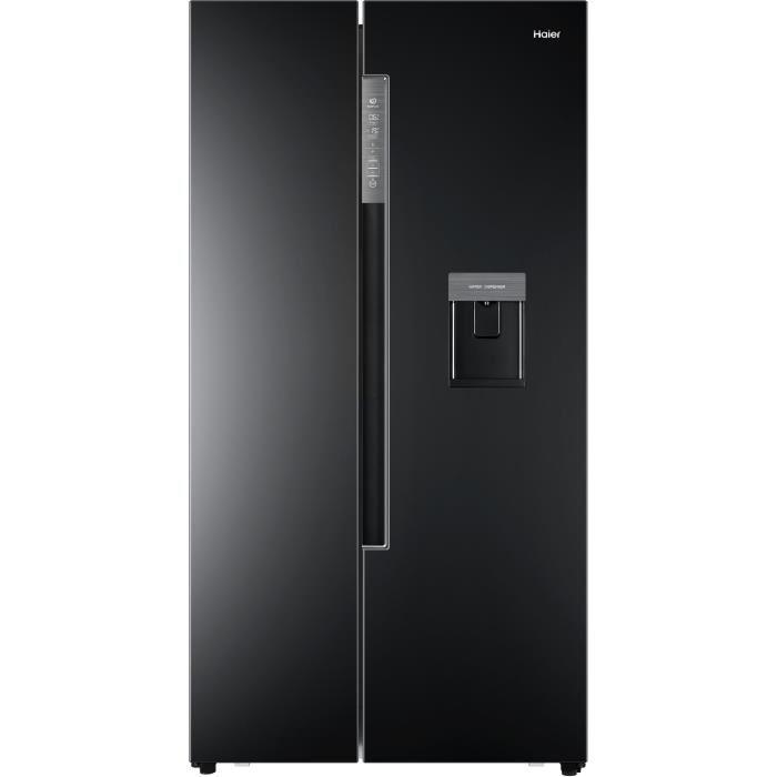 frigo americain noir