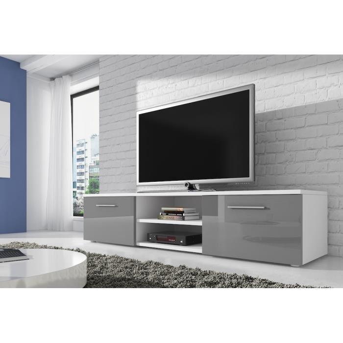 meuble tv gris
