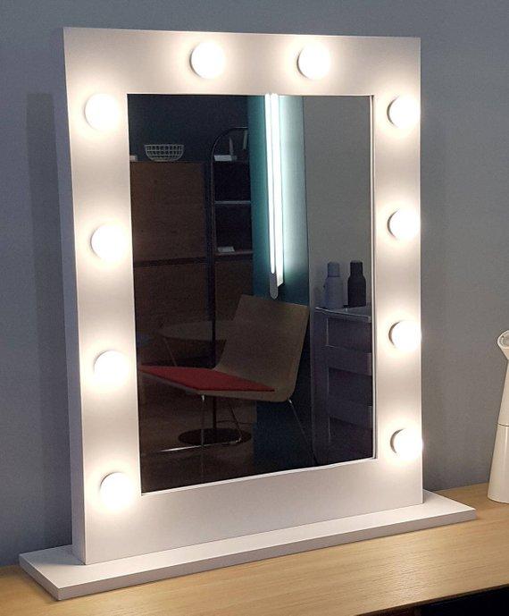 miroir avec lumiere
