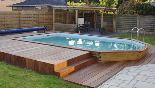 piscine hors sol bois rectangulaire