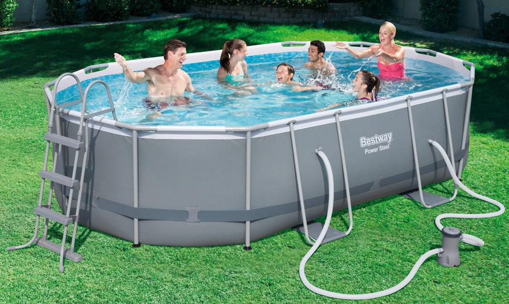 piscine tubulaire ovale