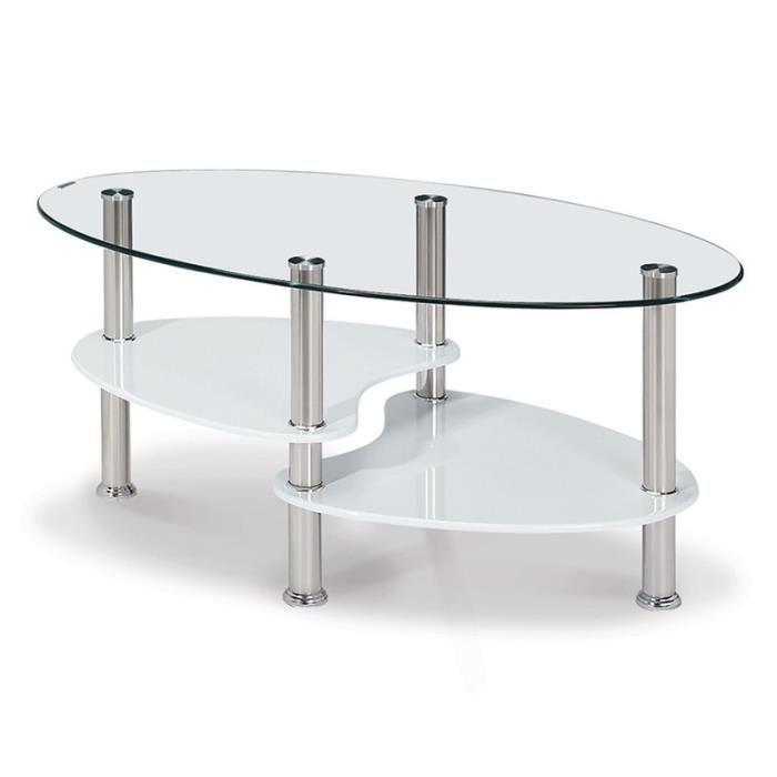 table basse en verre