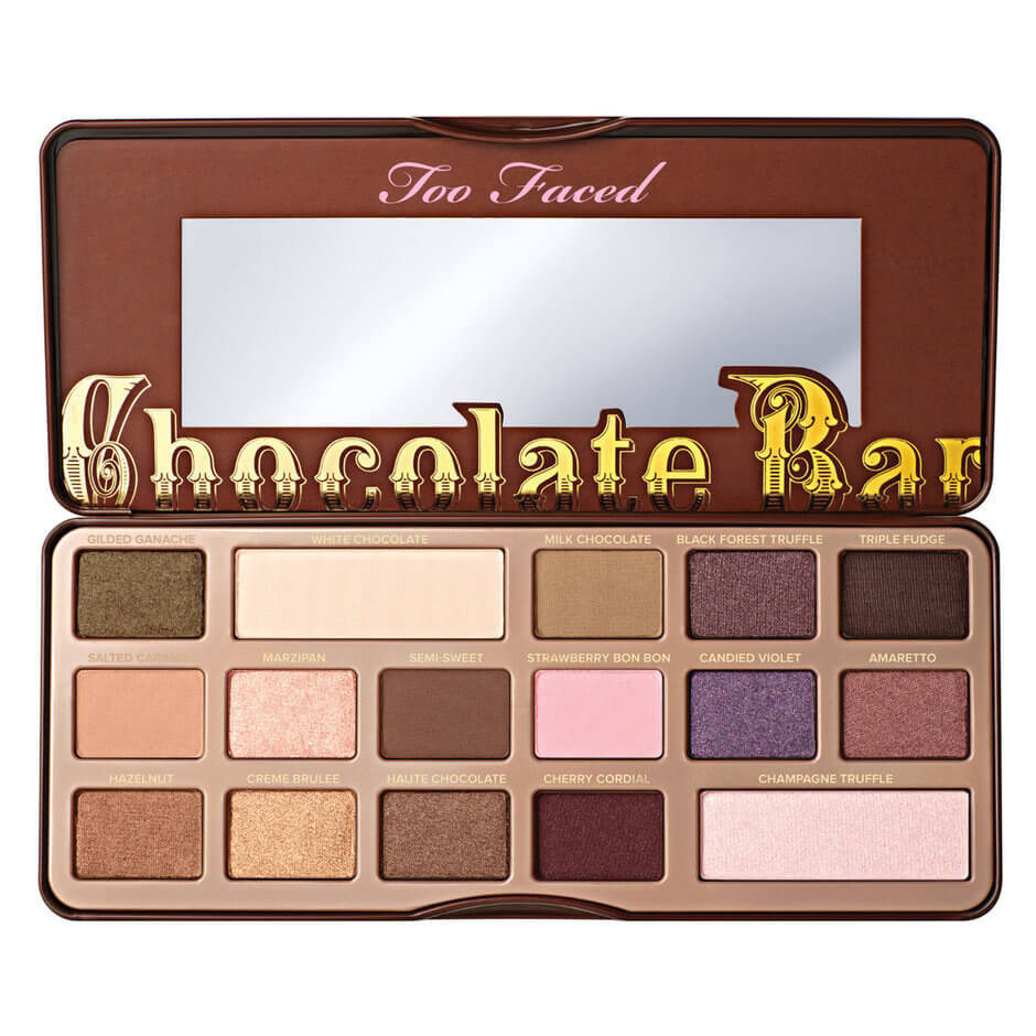 chocolat bar too faced