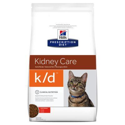 hill's prescription diet feline k d kidney care