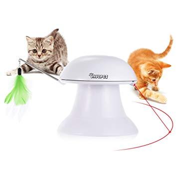 jouet pour chat interactif