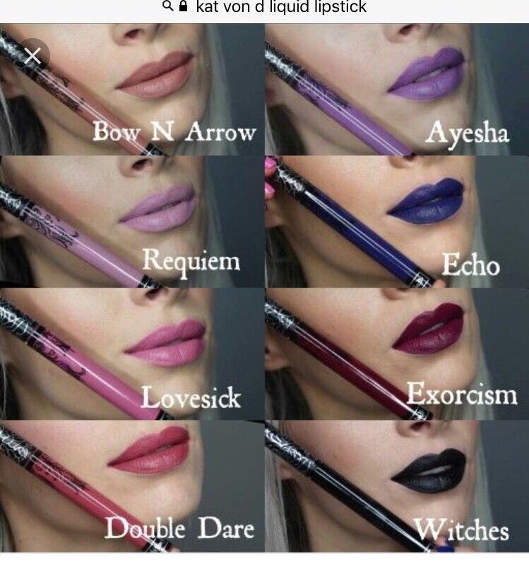 lipstick kat von d