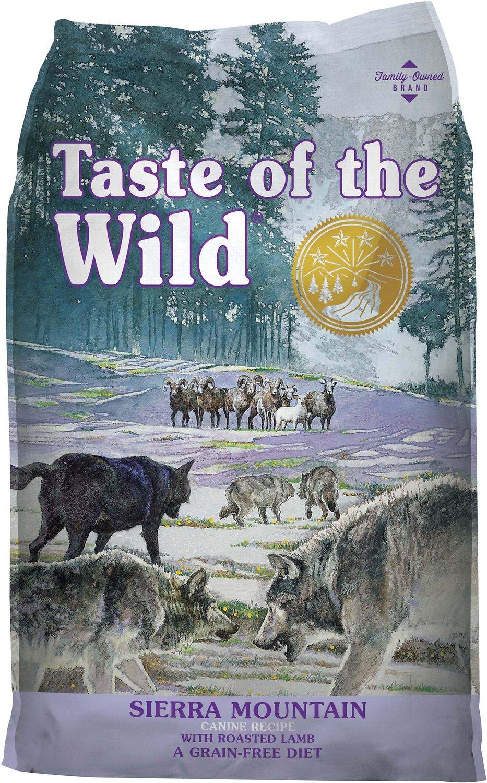 taste of the wild sierra mountain