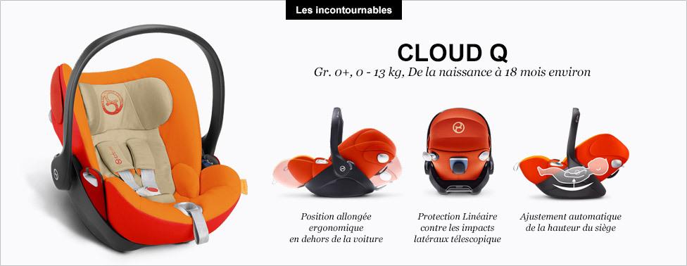 siege auto cybex cloud q