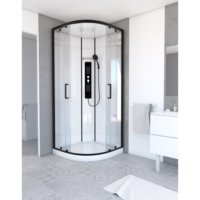 cabine de douche 1 4 de cercle